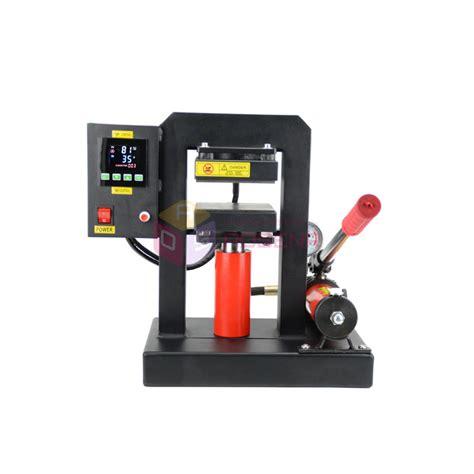 A pneumatic heat press machine