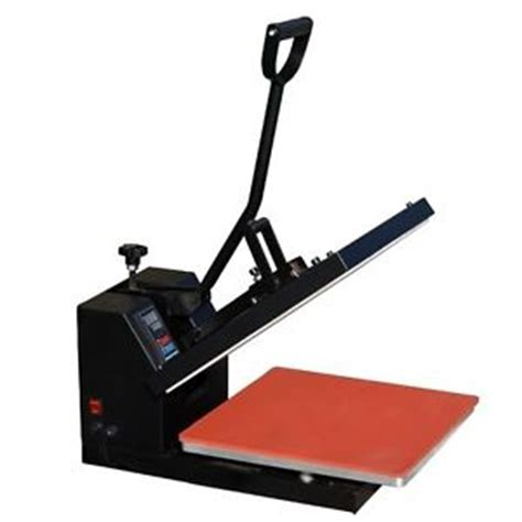 An example of a clamshell heat press machine
