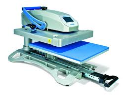 An example of a draw heat press machine