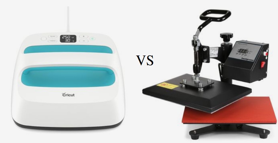 Cricut easy press vs heat press machine